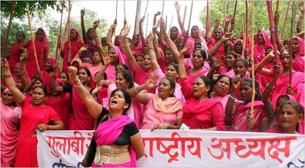 Manifestation de femmes en Inde
