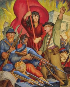 Les Communards, peinture de Diego Rivera
