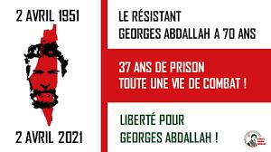 Déclaration de la Campagne Internationale pour la libération<br>du prisonnier Georges Ibrahim Abdallah